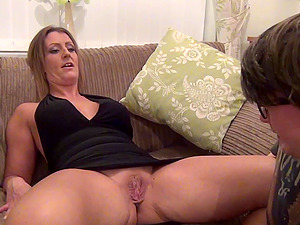 Blonde Nubile with Big Nipples Rubbing and Fingering Sweet Cunt