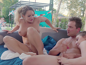 Pretty Cali Carter and other girls like to fuck by the pool