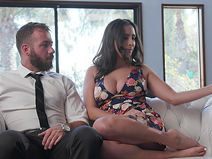 Ashley Adams finally gets to play with his delicious cock