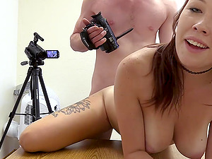 His delicious dick was all kinky girl Zoey needed to get pleased