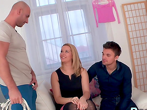 Lame Hubby Watches Wife Nikky Dream Fuck