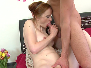 Dude just knows how to satisfy lustful lady Petrova C.