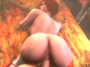 Hot amazing babes from different games getting their mouths and pussies fucked hard