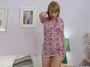 Bad doll Ludmila has terrific rectal hook-up and gets her face covered with spunk