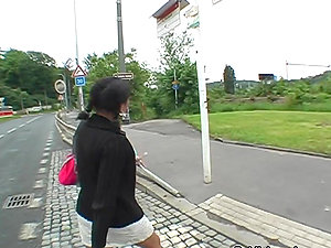Point of view Blojwob In Public With A Kinky Stunner