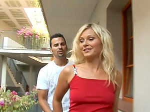 Hard-core Anal invasion Hookup in Prague with Czech Blone Stunner Kathy Sweet