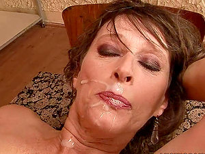 Piano Lesson Turns into Fucky-fucky Lesson with Randy Mature Hoe