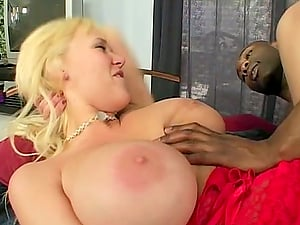 Carly Parker rails a Big black cock and begs the man to jizm in her mouth