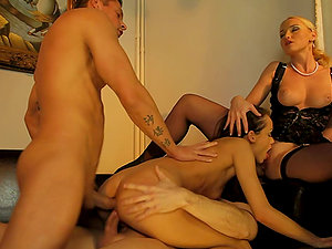 Dual Penetrating Four-way With Hot Stunners