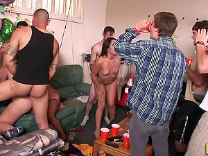 School Soiree Stunners Going Crazy and Getting Fucked