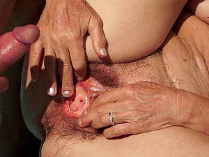 A fiercely gross granny snares another fresh faced banger
