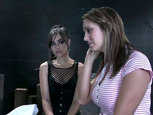Trina Michaels gets penalized by hot Sasha Grey in Domination & submission vid