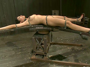 Beretta James gets toyed and covered with hot paraffin wax