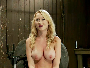 Chesty and Gorgeous Madison Scott Tantalized and Toyed in Hot Domination & submission Vid