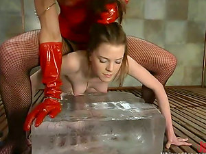 Keiko gets whipped by Kym Wilde and loves it a lot