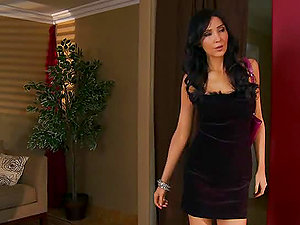 Butt Fucking Black-haired Diana Prince in Hard-core Assfuck Hump Flick