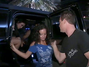 Lovely Danica Blue gets rammed in a VIP cabin in a club