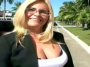Suzanna gets a dose of a penis on the way to work