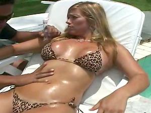 Slimy bang-out with a desirable Latina stunner Silvia