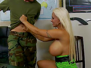 Reminisce Me Sgt. After Gonzo Fuck-a-thon With Holly Halston