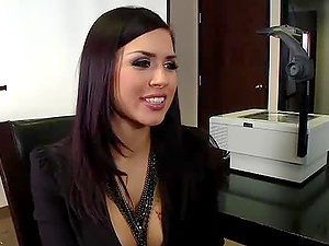The Best Work Fuck in the Office with Black-haired Vixen Eva Angelina
