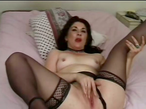 Dirty Mature In Stockings Gets Her Hot Arse Ruined