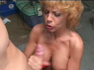 Sexy Mature In Stockings Fucked By Her Horny Neighbor