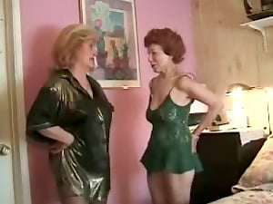 Two Horny Grannys Called Big Black Man rod To Fuck Them Hard