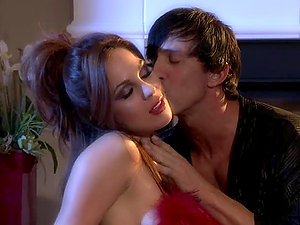 Steamy Sexy Time by the Fireplace with Beautiful Kirsten Price