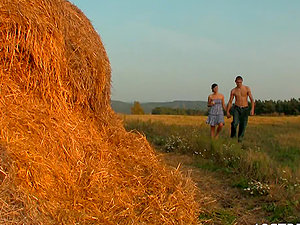 Nice Teenager & Horny School Dude On A Farm
