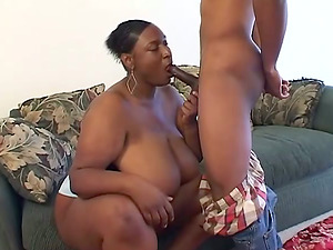 Slum BBW Bitch Fucked Doggystyle And Missionary By Thug