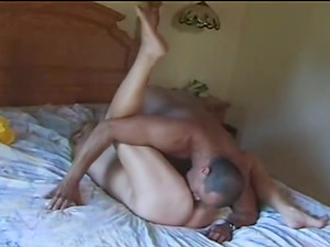 His Boner Got Very Big When He Touched Her Big Natural Tits