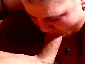 Horny BBW With Enormous Tits Gives Oral pleasure To Horny Stud