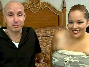 Big-chested BBW Tramp Fucked By A Big Fat Man rod In Her Bedroom