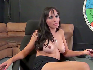Hot Black-haired Honey Doing Cunt Wanking And Xxx Fucking