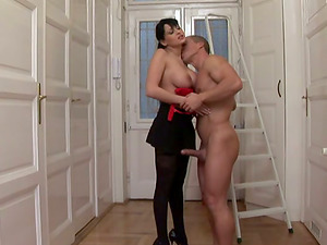 Alison Starlet gets her pulsing cunt fucked in all positions