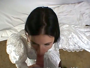 Big-titted Allie Sin gets arse fucked before the wedding