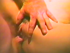 Horny whore rails a man rod after getting her vag tongued in homemade movie