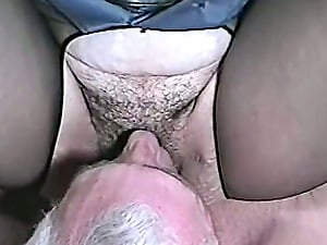 A insane damsel in sexy police uniform gets fucked by an old man