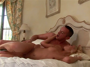 Petite Sylvia Louren gets fucked nice and deep in a bedroom