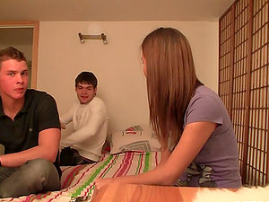 Eastern Euro Nubile Students Got Horny and Had Romp