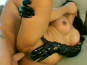 Gonzo Asian Tramp In Spandex Hard Ass-fuck Lovemaking
