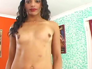 Hot rear end style with a charming Indian whore