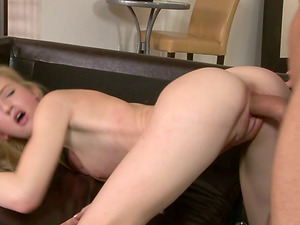 Will Powers lets Skylar Green suck his dick and fucks her rear end style