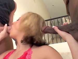Hot Interracial Fuck Session Involves Horny Teenagers After Black Dick