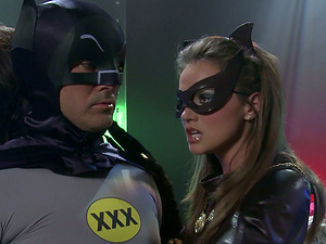 Parody of Batman and Robin Xxx Fucking Batgirl
