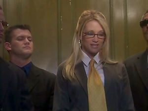 Horny Delicious Lawyer Jessica Drake Got Fucked In Elevator