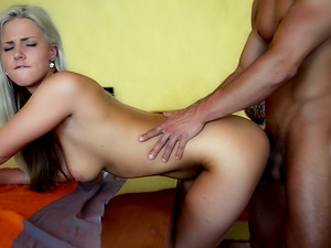Nice blow-job and doggystyle lovemaking act going on in this movie