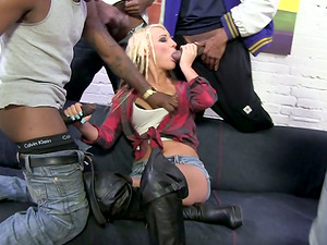 She is a whore and lot of black dudes take her