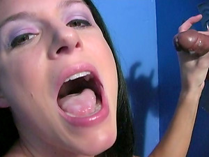 Slender India Summer bj's a dick and fondles her hot snatch